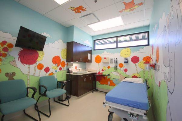 Nutex Health Golden Triangle Emergency Center Orange TX room