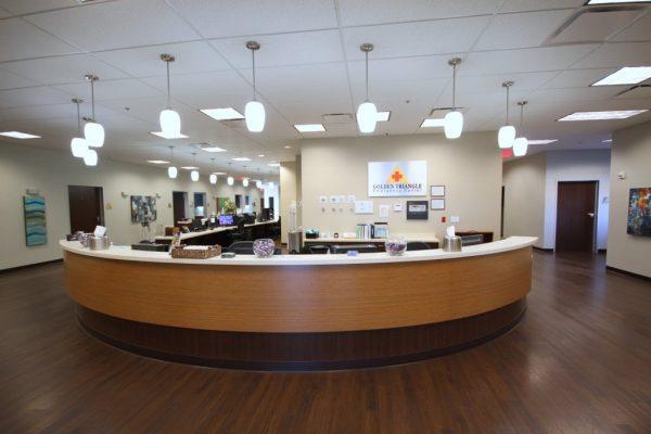 Nutex Health Golden Triangle Emergency Center Port Arthur TX desk