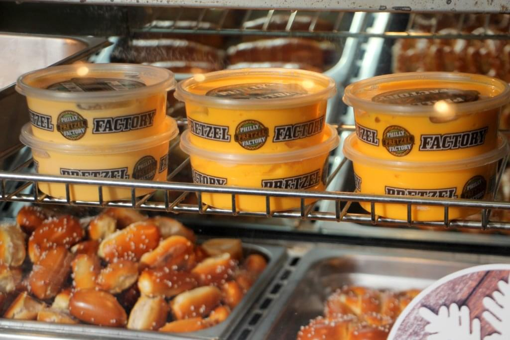 Philly Pretzel Factory Cherry Hill NJ pretzel bites mustard
