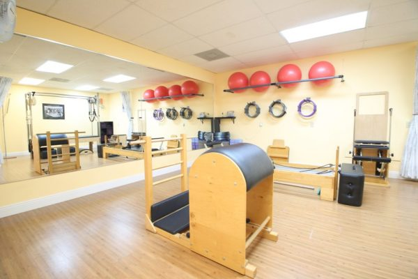 Pilates of Palm Beach Boynton Beach FL red rubber balls