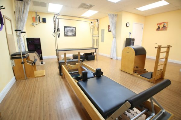 Pilates of Palm Beach Boynton Beach FL stretching machines