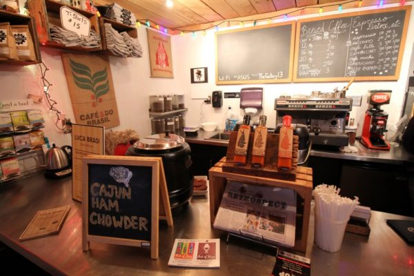 Revolution Coffee Roasters Collingswood NJ coffee house counter