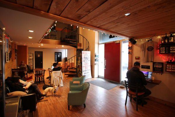 Revolution Coffee Roasters Collingswood NJ coffee house lounge