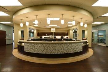 STAT Emergency Center of Laredo TX reception desk