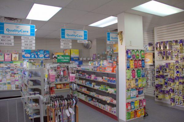Savon Drugs Pharmacy Keyport NJ aisles