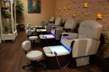 The Woodhouse Day Spa  SouthGlenn Centennial CO pedicure chairs