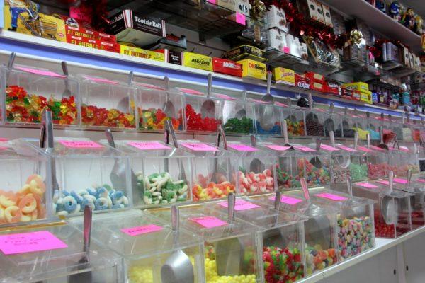 Candy Buffet Haddonfield NJ candy bins