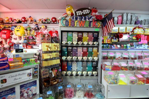 Candy Buffet Haddonfield NJ m&m's dispenser
