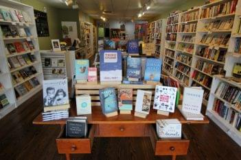 Inkwood Books Haddonfield NJ book display