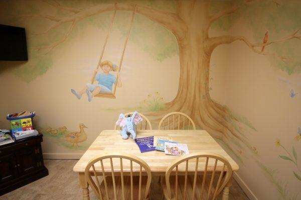 Jackson Funeral Home Haddon Township NJ kids kove childrens room
