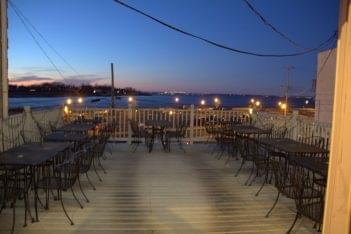 Nemo Restaurant Keyport NJ Japanese restaurant ocean side patio seating