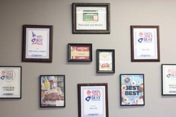 Phil's Deli and Market Cherry Hill NJ awards