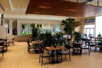 Sirena Oceanfront Restaurant Puerto Rico seating