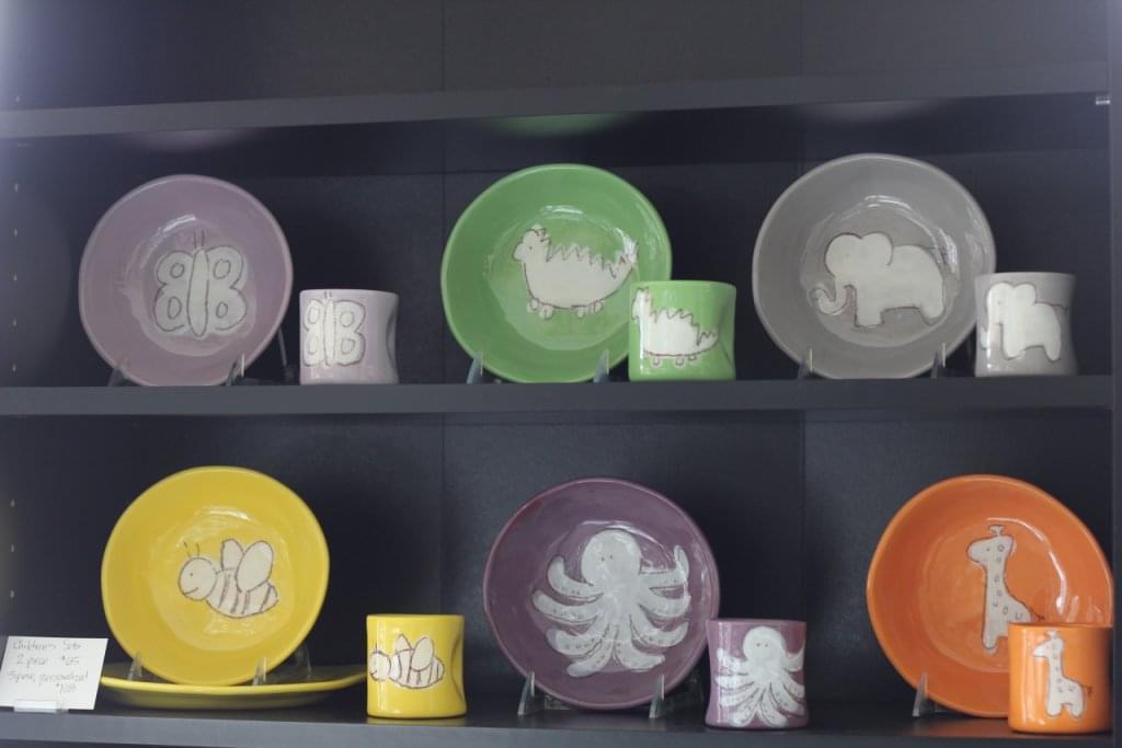 The Polished Plate Haddonfield NJ color animal plates