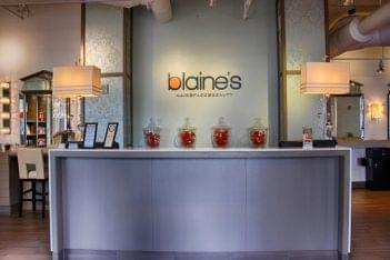 Blaine's Color Dallas TX front desk