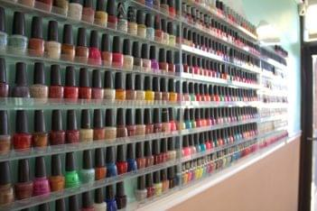 City Nails & Spa Hazlet NJ nail polish