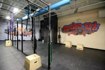 Club Metro USA Paterson NJ crossfit room