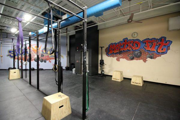 Club Metro USA Paterson NJ crossfit room