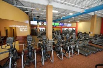 Club Metro USA Paterson NJ excercise machines