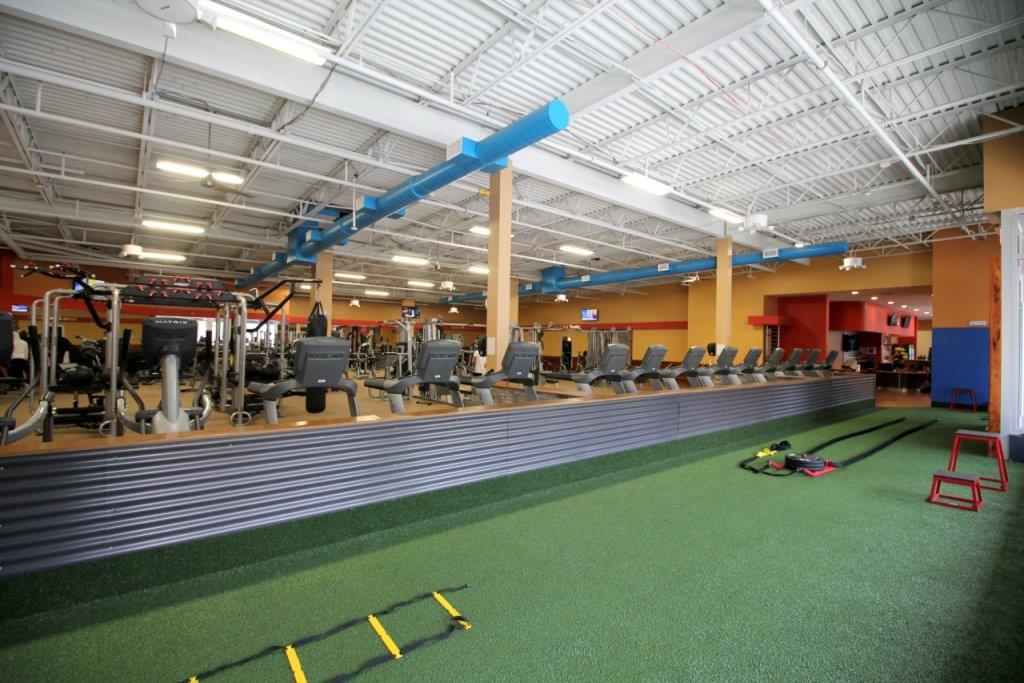 Club Metro USA Paterson NJ gym floor
