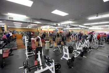Club Metro USA of West New York NJ gym floor