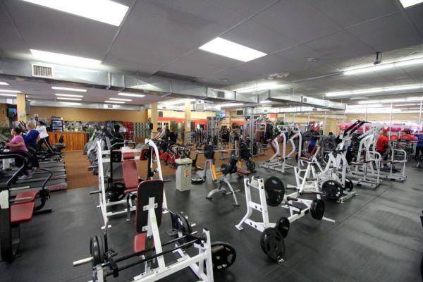 Club Metro USA of West New York NJ gym floor