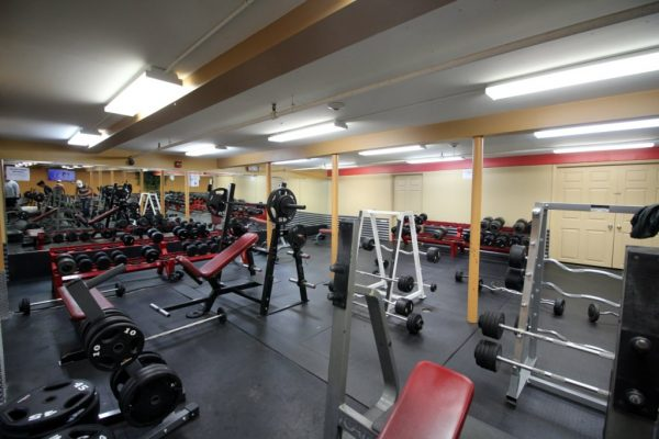 Club Metro USA of West New York NJ weight room