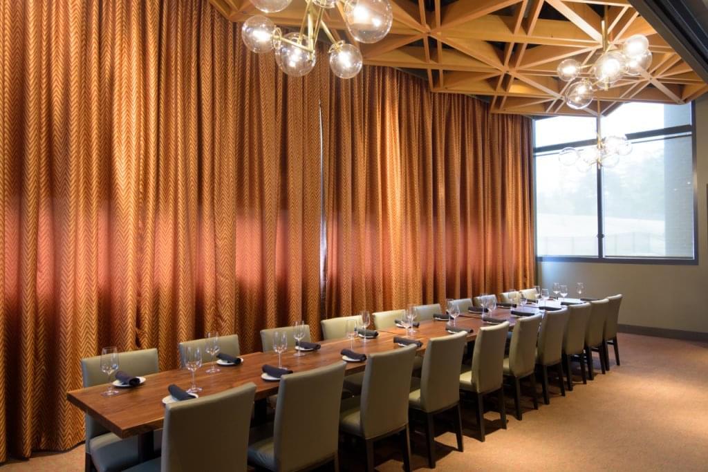 Del Frisco's Grille Little Rock AR steak house banquet table