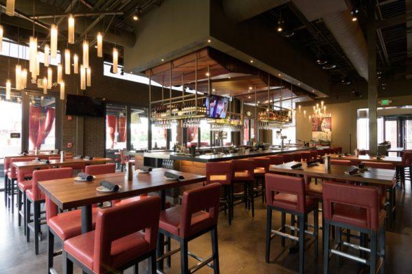 Del Frisco's Grille Little Rock AR steak house bar