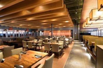 Del Frisco's Grille Little Rock AR steak house seats