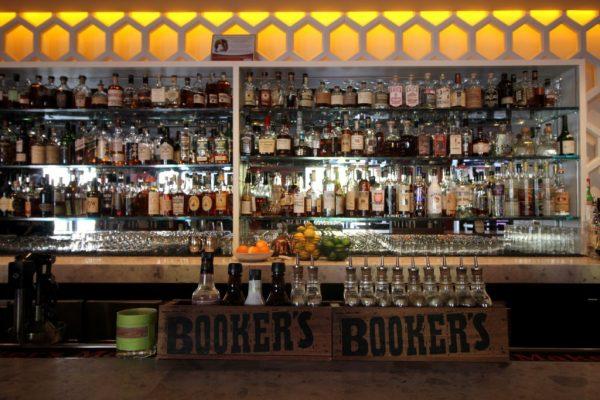 INC American Bar & Kitchen New Brunswick NJ bar counter