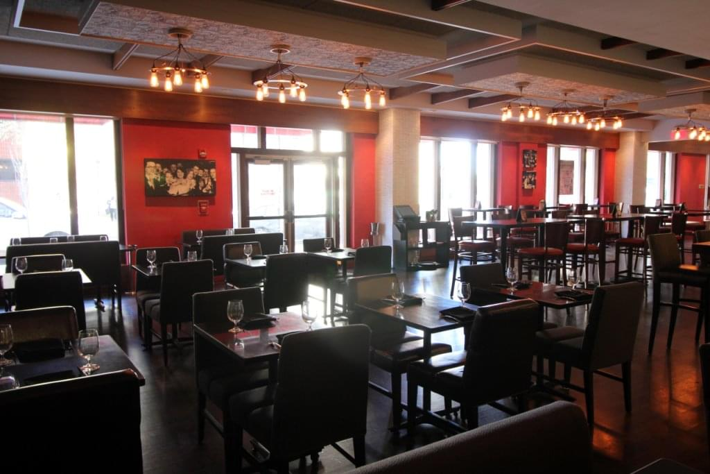 INC American Bar & Kitchen New Brunswick NJ dining room