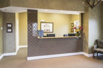 Long Grove Dental Studio Lake Zurich IL dentist front desk