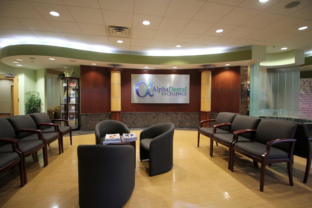 Alpha Dental Excellence Langhorne PA waiting room