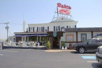 Bahrs Landing Seafood Restaurant & Marina Highlands NJ front
