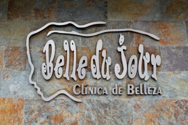 Belle du Jour San Juan Puerto Rico beauty salon sign