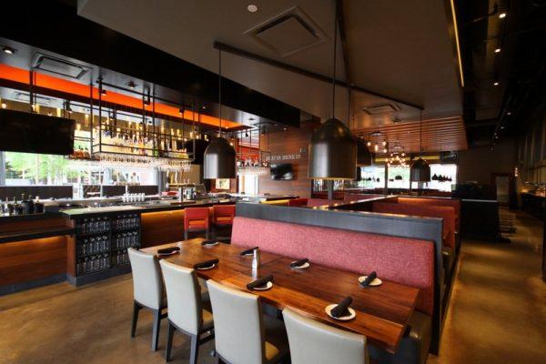 Del Frisco's Grille Steak House The Woodlands TX bar