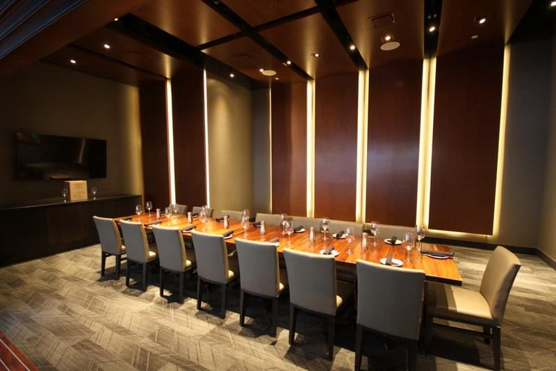 Del Frisco's Grille Steak House The Woodlands TX private room