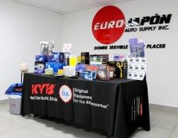 Euro Japon Auto Service Warehouse Pontevedra Spain display