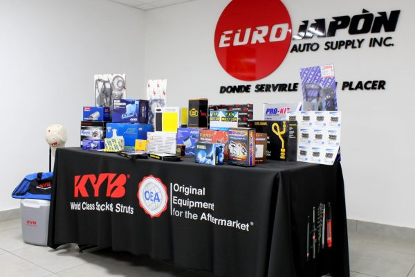 Euro Japon Auto Service Warehouse Pontevedra Spain display