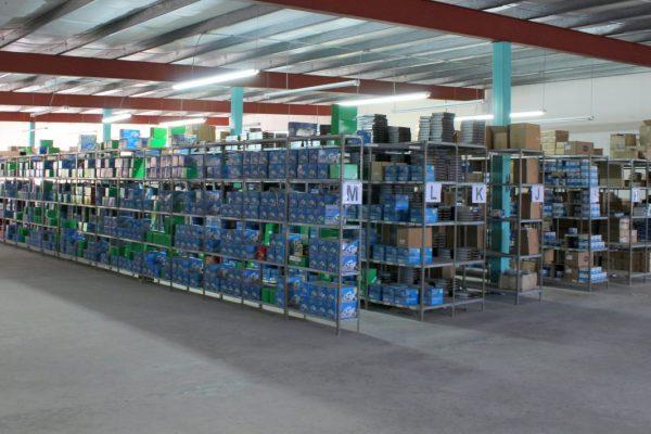 Euro Japon Auto Service Warehouse Pontevedra Spain stacks