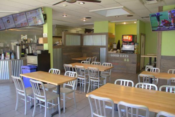 Hansel 'n Griddle Red Bank NJ restaurant seating