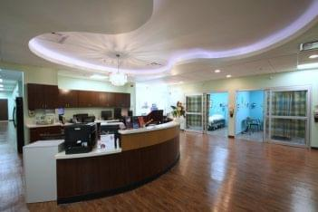 Lufkin Emergency Room Nurses desk