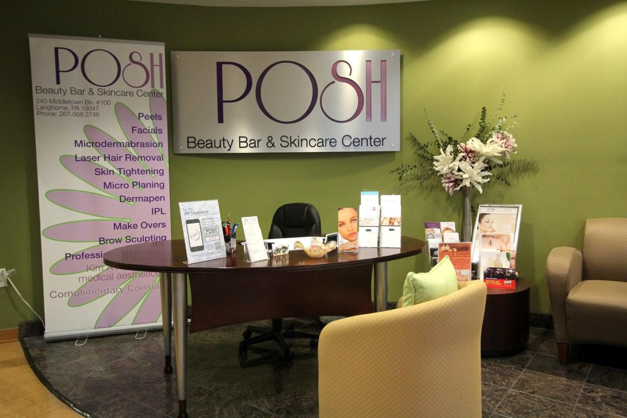 POSH Beauty Bar & Skin Care Center Langhorne, PA – See-Inside Beauty Salon