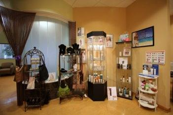 POSH Beauty Bar & Skin Care Center Langhorne PA display