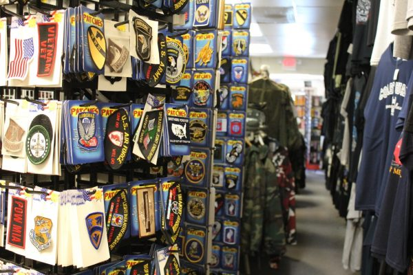 Racer's Army & Navy Williamstown, NJ military stickers clothing