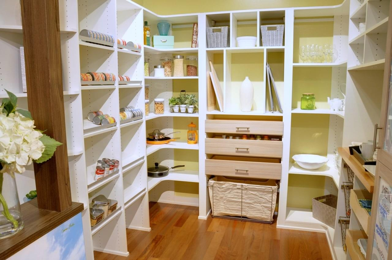 Beau California Closets Honolulu HI Kitchen Pantry