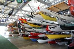 Manhattan Kayak Company Canoe storage New York, NY pier 84