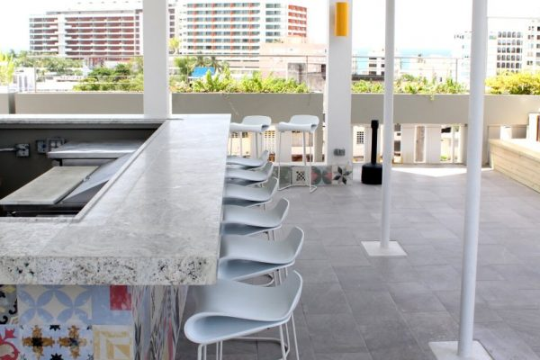 The Wave Hotel San Juan, Puerto Rico rooftop bar