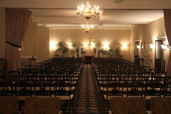 Victor Baldi Pennsylvania Burial Company Funeral Home Philadelphia, PA viewing memorial service room